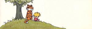 Calvin and Hobbes bookmark 2