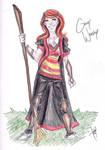 Ginny Weasley - Quidditch by bbandittt