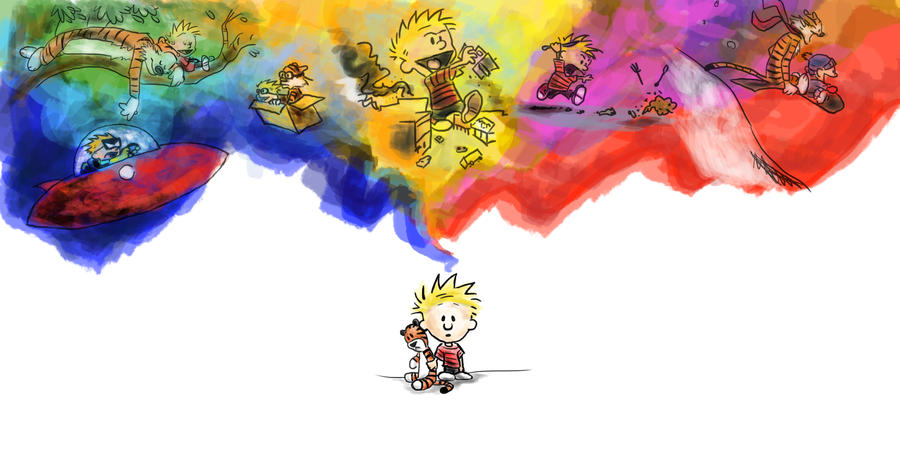 Calvin and Hobbes by blindbandit5