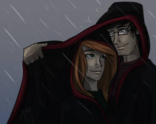 in the rain by bbandittt