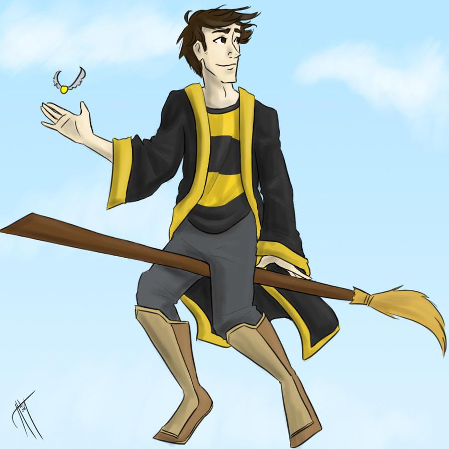 Cedric Diggory by blindbandit5