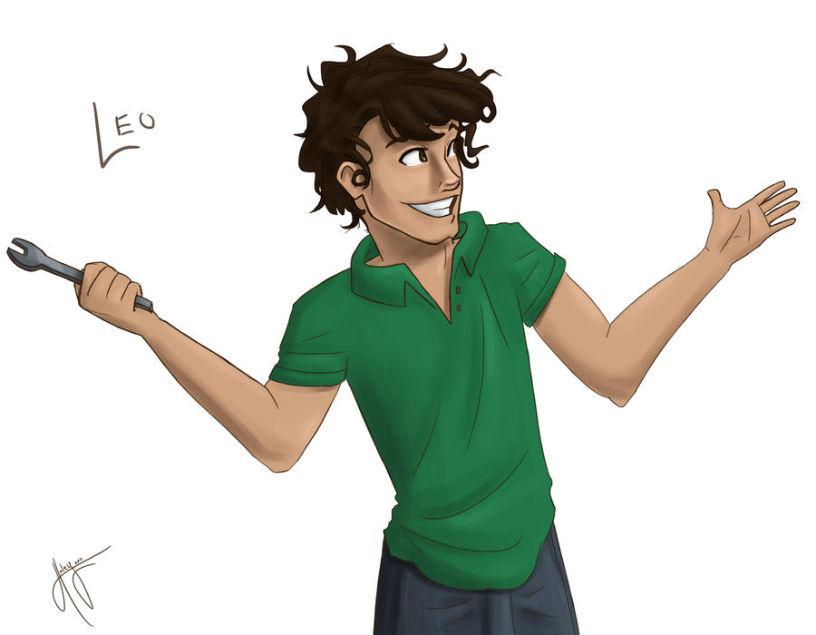how to draw leo valdez