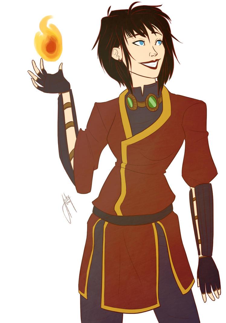Firebender Viria by blindbandit5