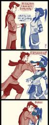 Mako and Fashion by bbandittt