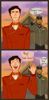 How Iroh's conversation should have gone.