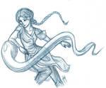 Katara doodle