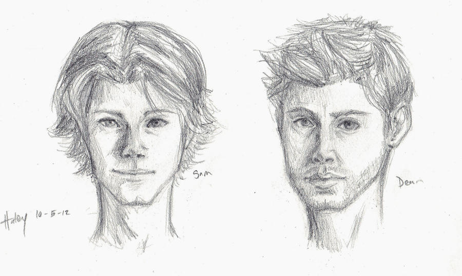Winchester boys sketches by blindbandit5 on DeviantArt Liam Neeson Movies