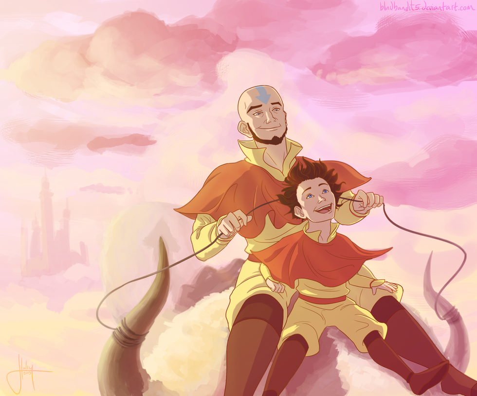 Tenzin Flashback by blindbandit5