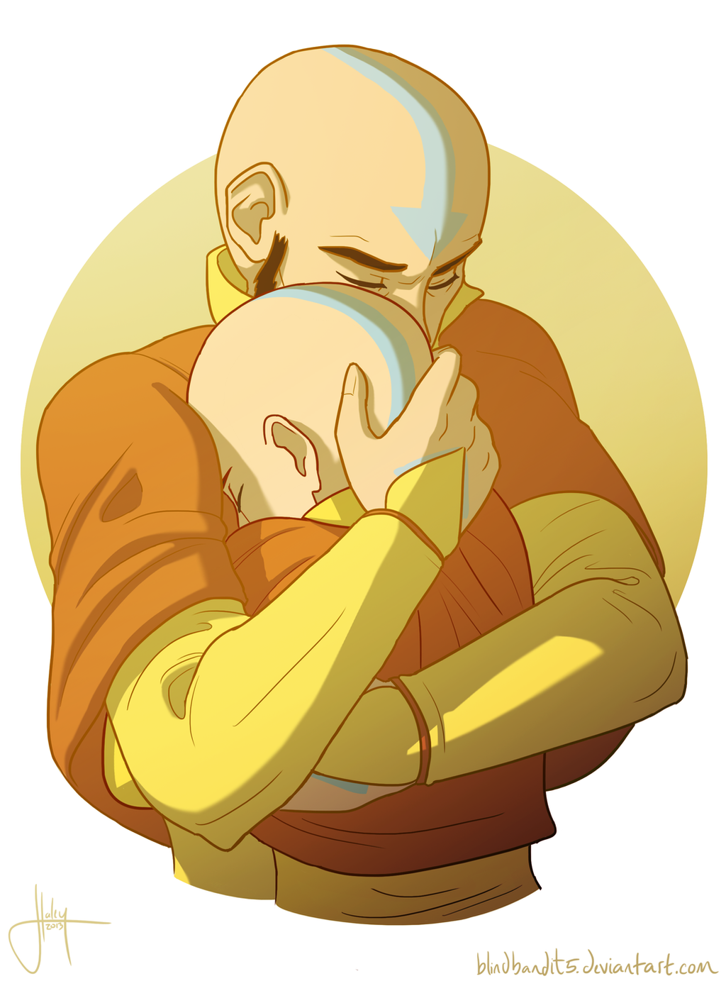Tenzin and the Avatar pt. 1 by blindbandit5