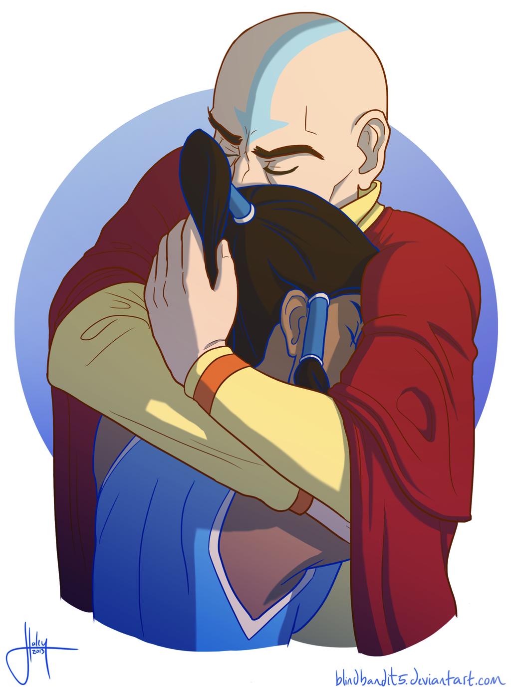 Tenzin And The Avatar pt. 2 by blindbandit5