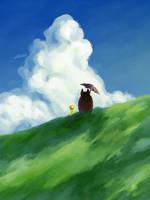Studio Ghibli - My Neighbor Totoro by bbandittt