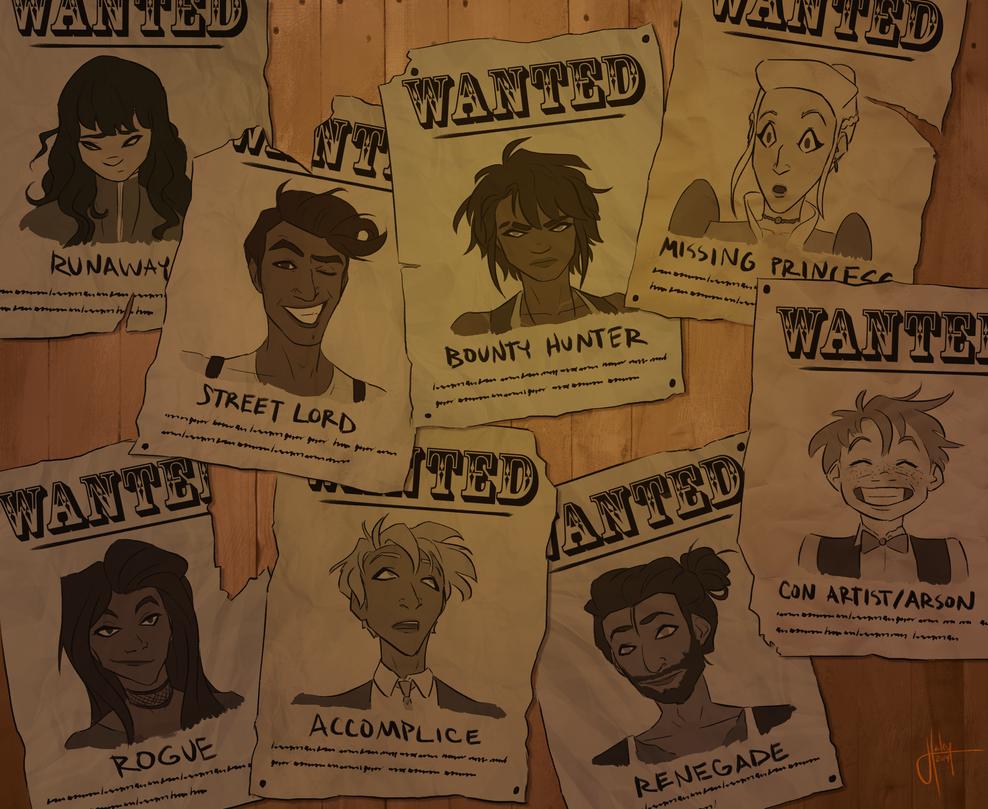 Wanted by blindbandit5