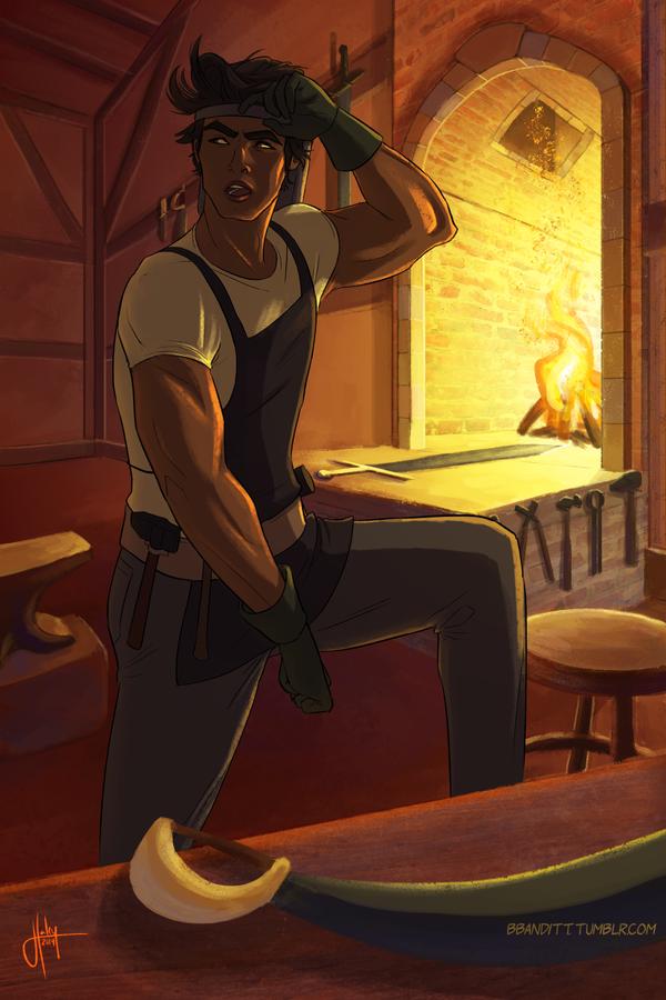Kae - Blacksmith by blindbandit5