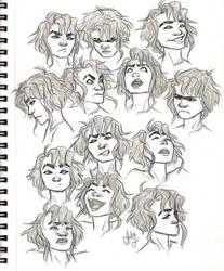 Lenna emotion sheet by bbandittt
