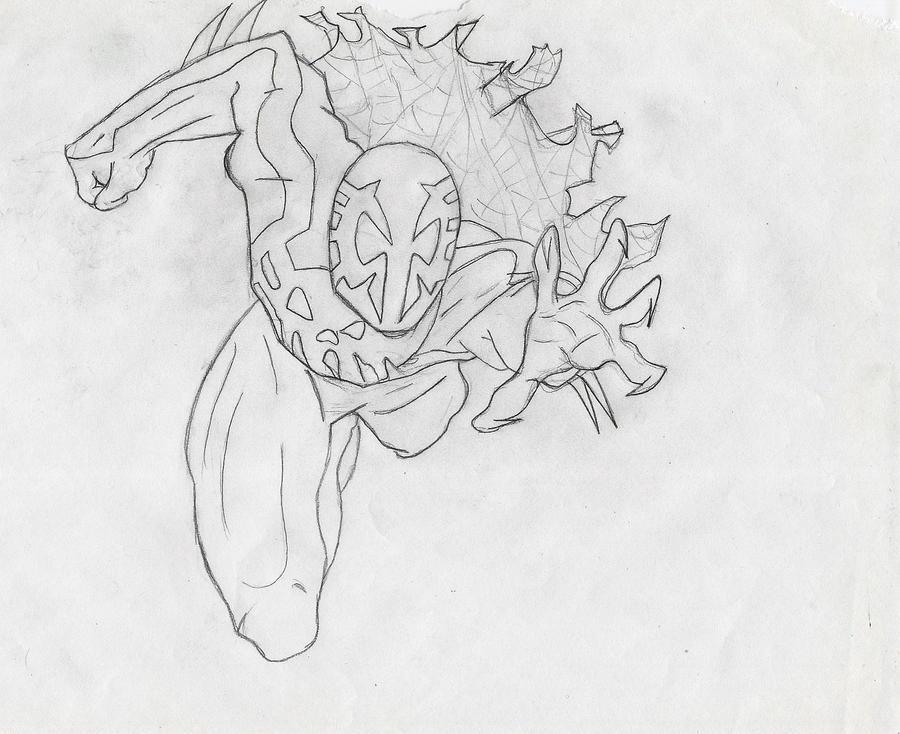 spider man 2099 drawing wwwimgkidcom the image kid