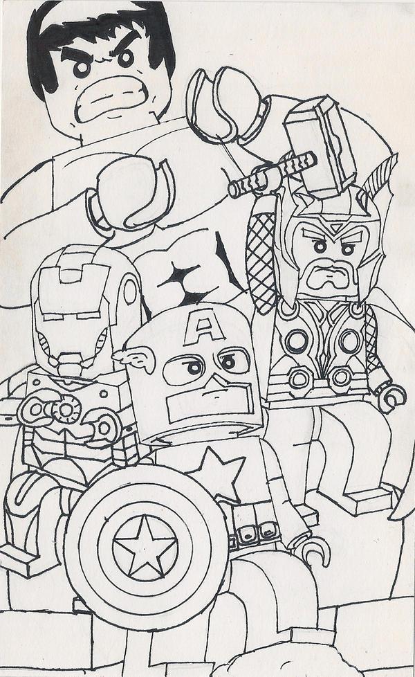 Lego Avengers by megaturkey on DeviantArt