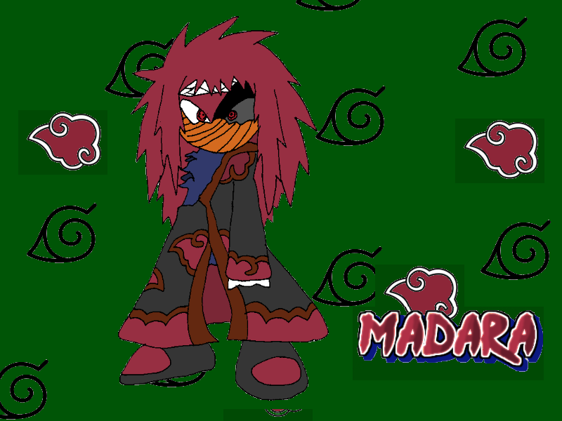 Madara, Half Mask by Tails19950