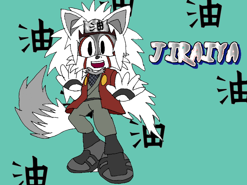 Jiraiya the Koala-Fox by Tails19950