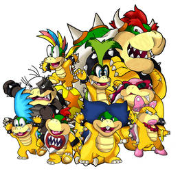 The Koopa Family by Tails19950