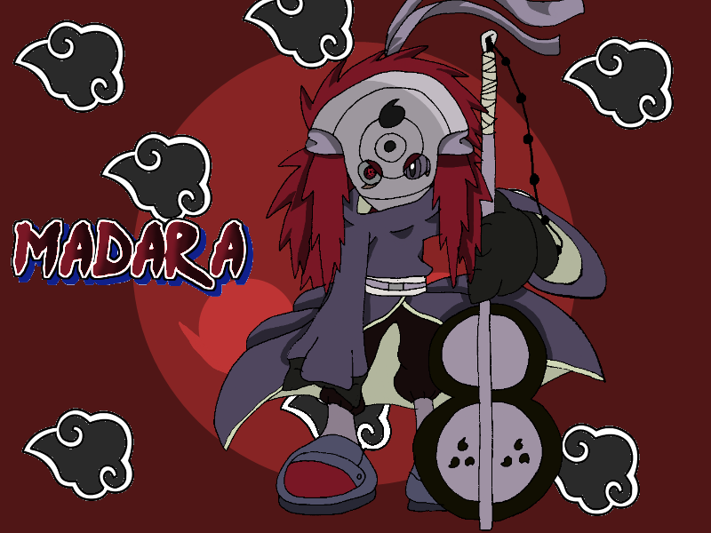 Madara Uchiha Official Colours by Tails19950