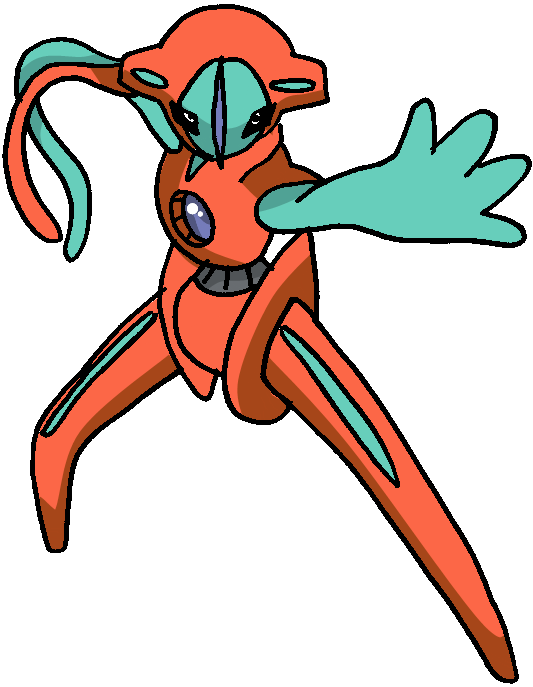 386 - Deoxys - Normal Forme by Tails19950 on deviantART
