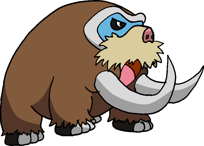 473 - Mamoswine by Tails19950 on DeviantArt