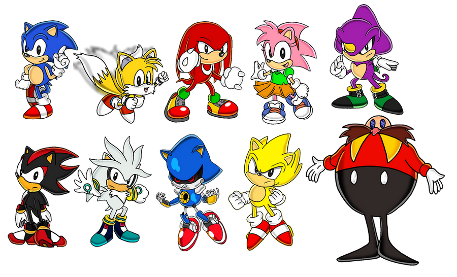 Classic Characters by Tails19950