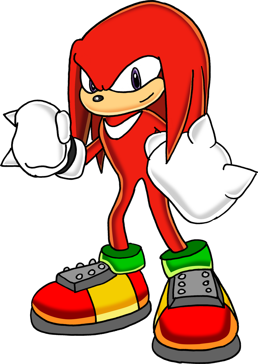 Knuckles The Echidna - FullArt by Tails19950