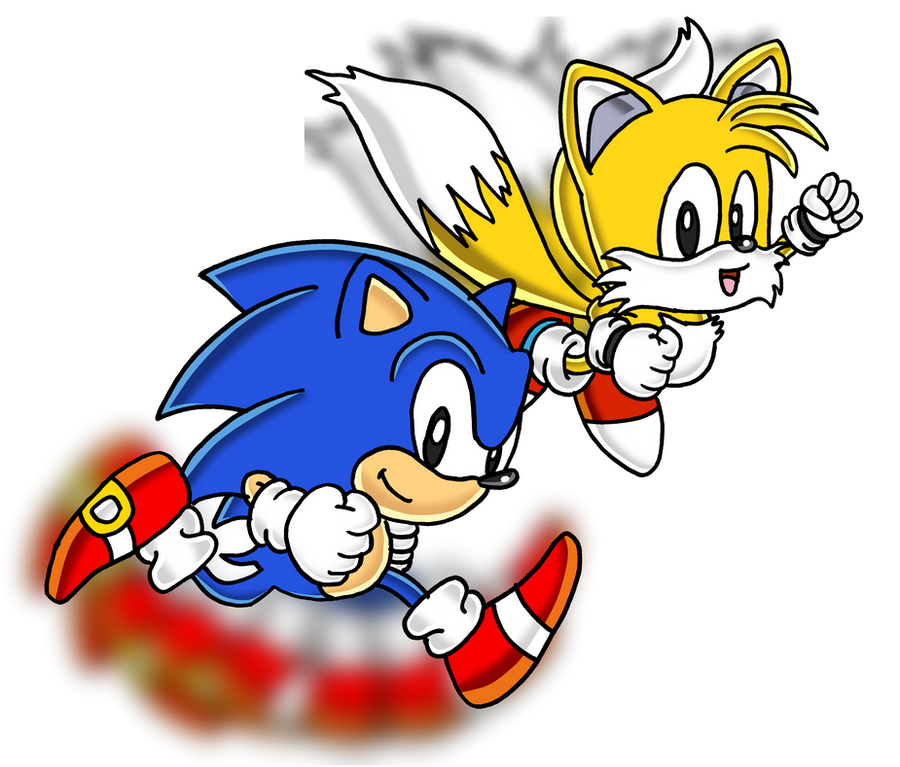 Classic Sonic And Classic Tails By Tails19950 On DeviantArt