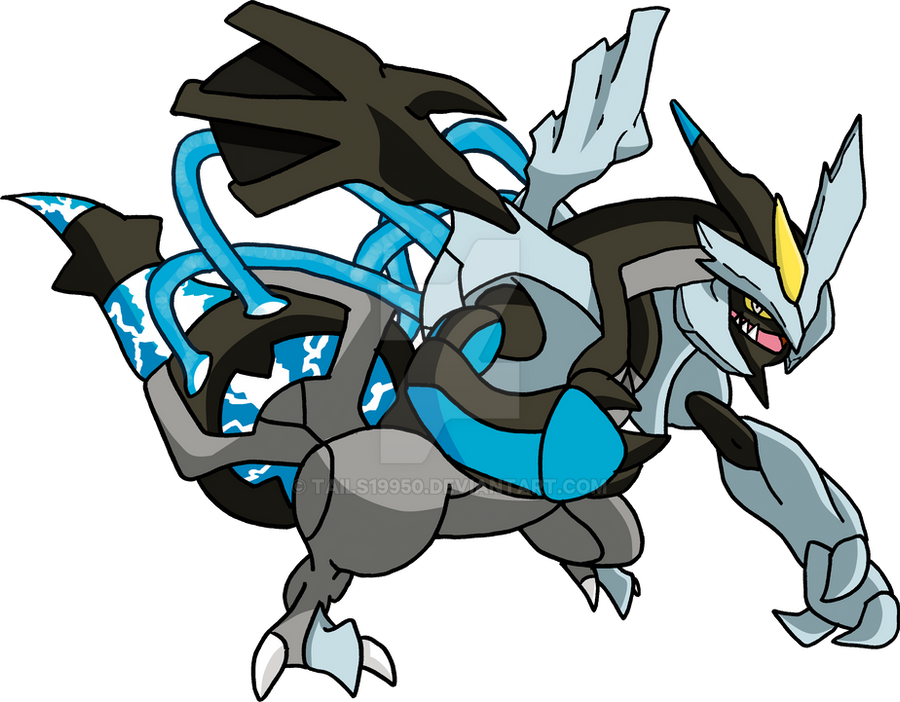 646 - Kyurem (Black Forme) by Tails19950
