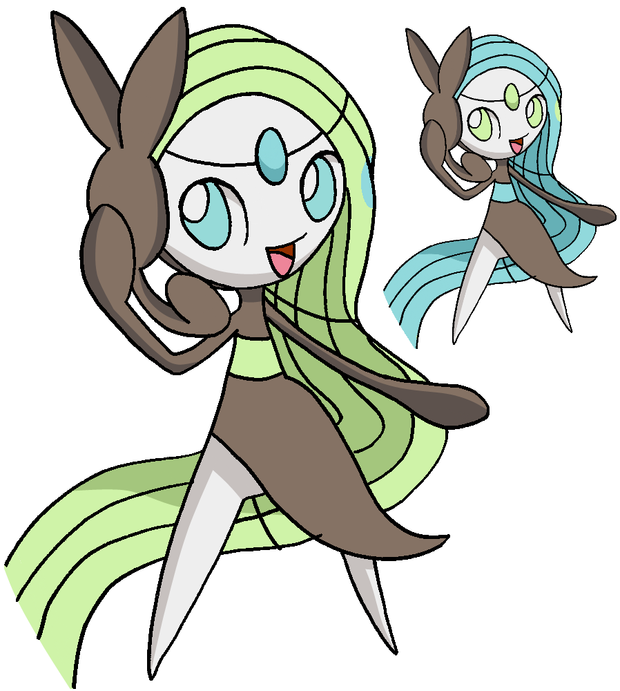 648 - Meloetta (Aria Forme) - art v.2 by Tails19950 on ...