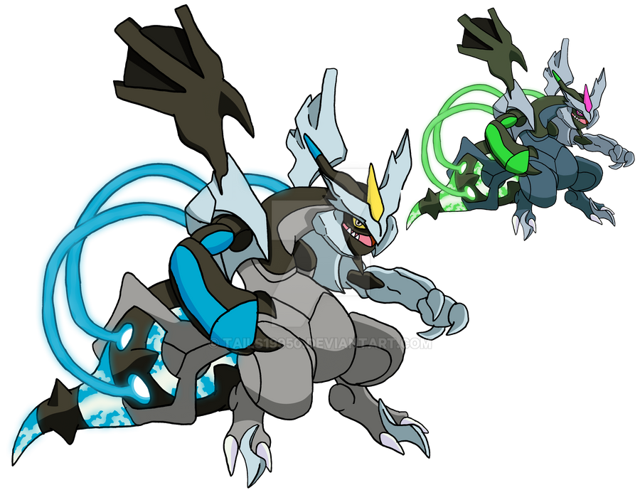 646 - Black Kyurem - art v.2 by Tails19950 on DeviantArt