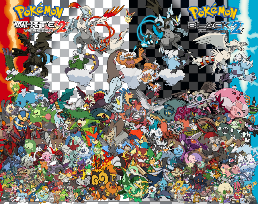 Pokemon Black 2 And White 2 The Gen 5 S By Tails19950 On Deviantart