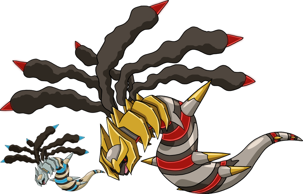 487 - Giratina (Origin Forme) by Tails19950 on DeviantArt