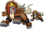 244 - Entei - Art v.2