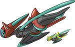 386 - Deoxys (Speed Forme)