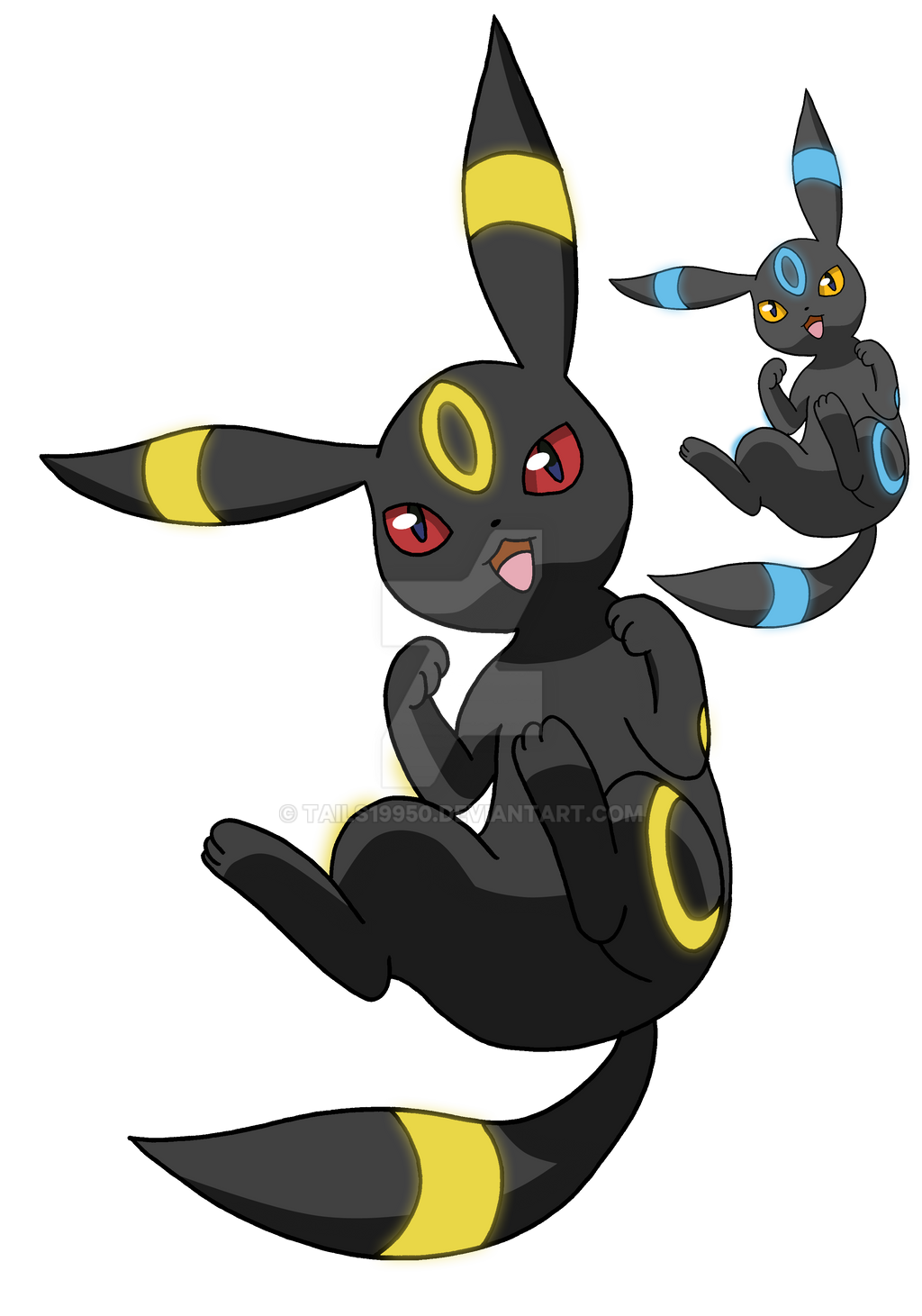 197 - Umbreon - Art v 3 by Tails19950Umbreon Artwork