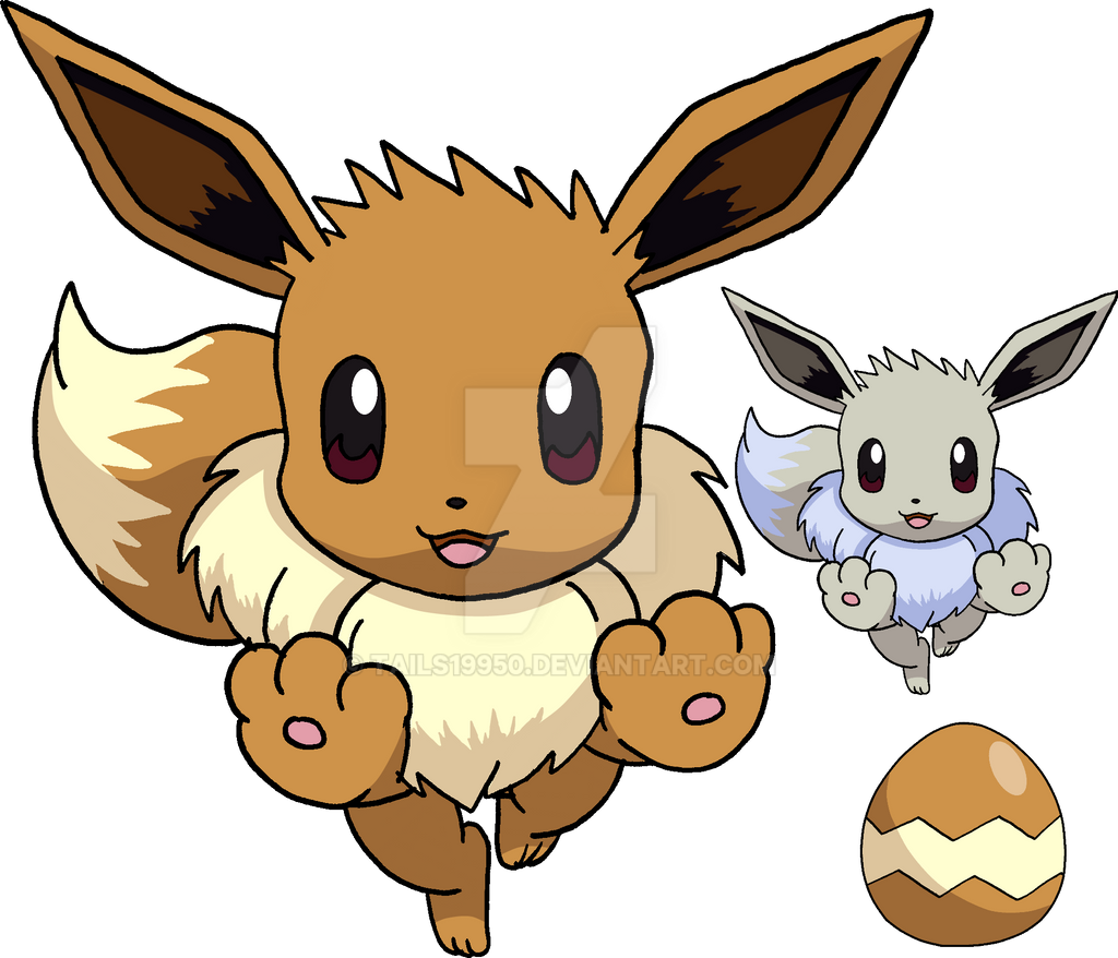 133 - Eevee - Art v.4 by Tails19950