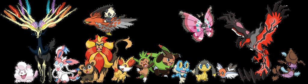 pokemon generation 6 by tails19950 on deviantart