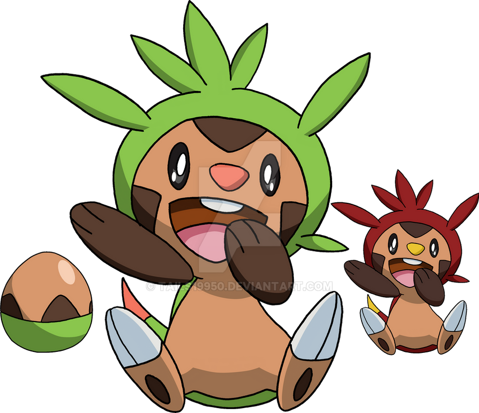 650 - Chespin - Art v.4 by Tails19950