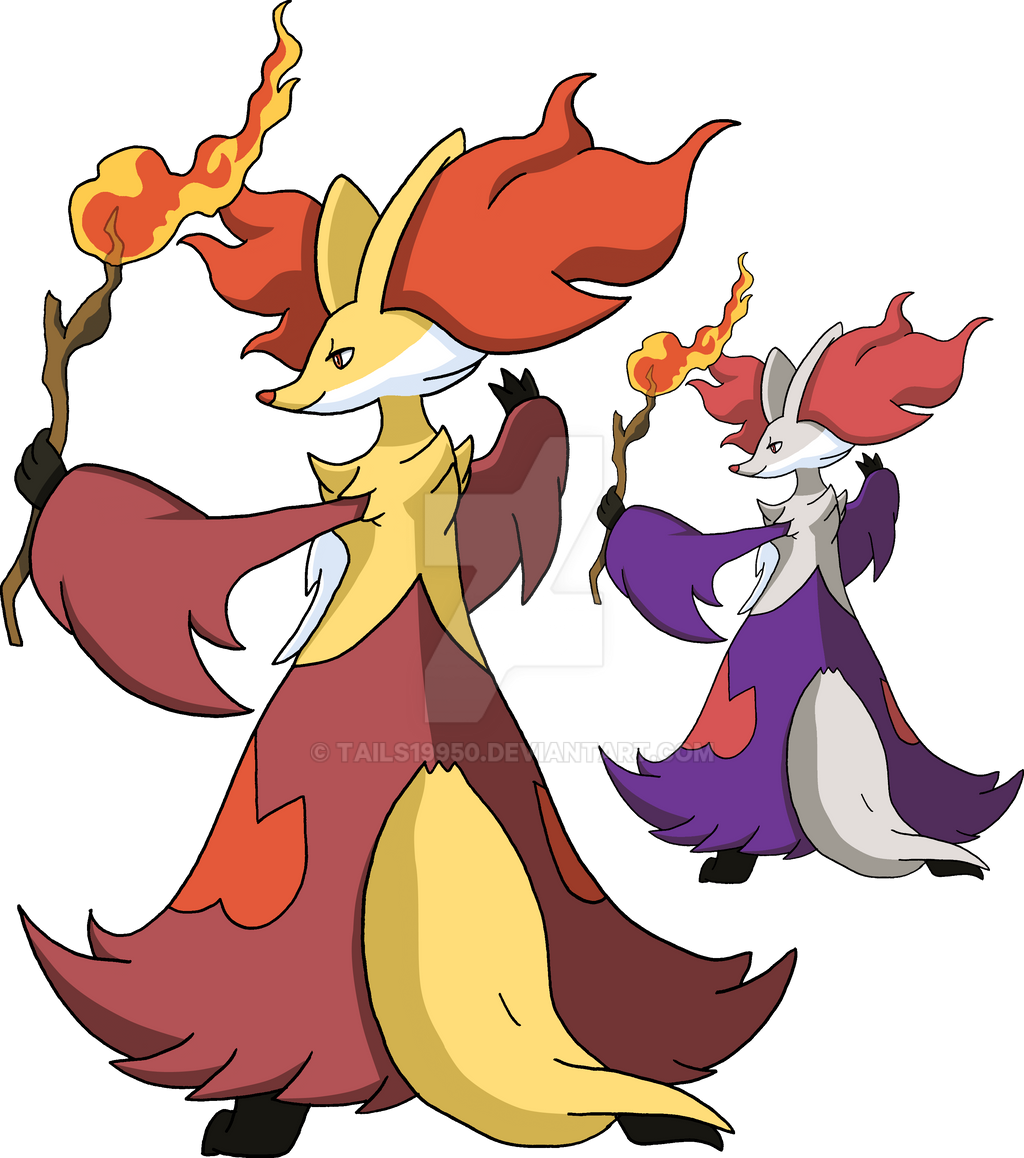 655 - Delphox by Tails19950 on DeviantArt