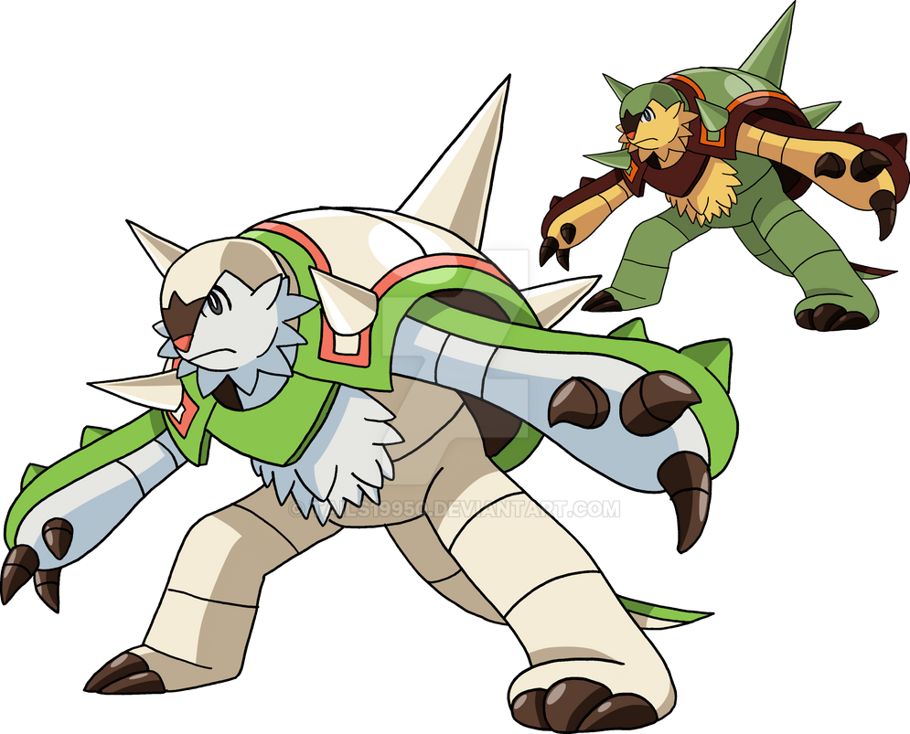 652 - Chesnaught by Tails19950 on DeviantArt