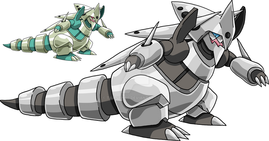 306 - Mega Aggron by Tails19950 - 313.0KB
