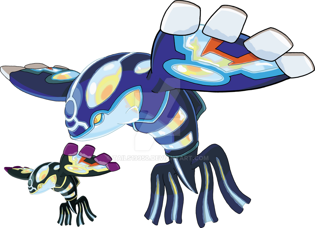 382 primal kyogre art v 2 by tails19950 on deviantart - Legendaire shiney ...