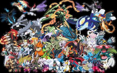 The Mega Pokemon