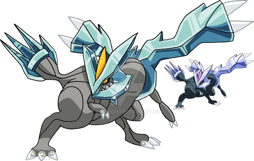 646 Kyurem Art V 3 By Tails19950 On Deviantart