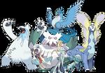 Elsa - Pokemon Style (With Team)
