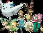 Anna - Pokemon Style (With Team)