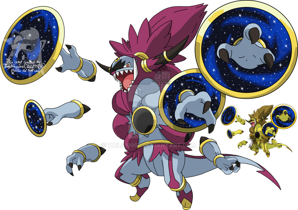 720 - Hoopa (Unbound Form) by Tails19950 on DeviantArt