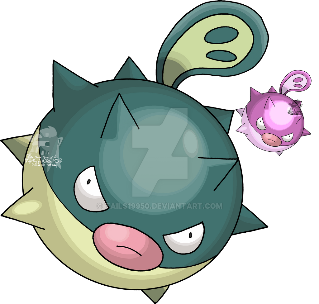 211 Qwilfish By Tails19950 On Deviantart